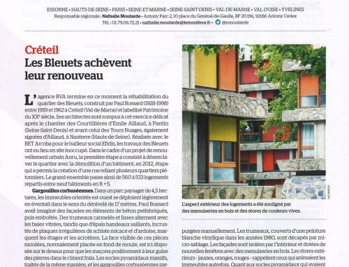 Le Moniteur  Créteil – Les Bleuets achèvent leur renouveau