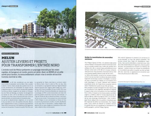 Traits urbains Melun – Ajuster leviers et projets pour transformer l'entrée nord
