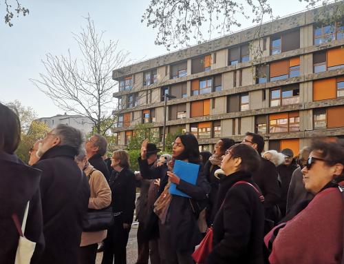 Festival d'architecture «Créteil, un autre regard»  Visite guidée de la résidence des Bleuets & Table ronde sur le patrimoine du XXè siècle