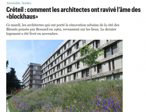 Le Parisien Créteil : comment les architectes ont ravivé l'âme des «blockhaus»