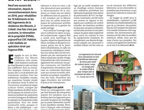 Actualités Habitat  Rénovation au long cours d'un patrimoine du XXè siècle