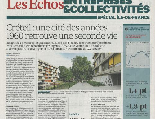 Les Echos  Créteil : une cité des années 60 retrouve une seconde vie