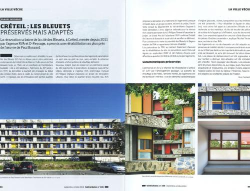 Traits urbains  Créteil : les Bleuets préservés mais adaptés