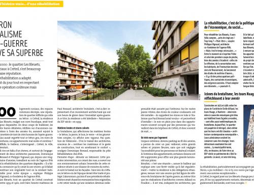 Objectif Grand Paris  Un fleuron du brutalisme d'après-guerre retrouve sa superbe