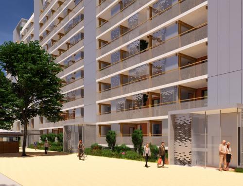 Concours gagné  Réhabilitation des 133 logements de la résidence Pranard à Villeurbanne